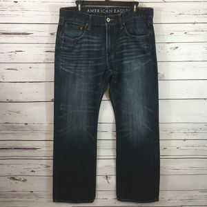 American Eagle Low Rise Bootcut Jeans.